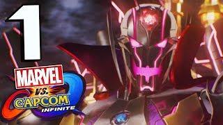 Marvel Vs Capcom Infinite Story Part 1 World's Collide Asgard Falls!