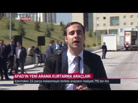 AFAD'IN HAFİF TONAJLI ARAMA KURTARMA ARAÇLARI