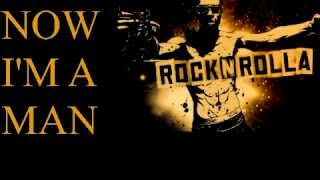 Black Strobe - I'm A Man (Lyrics on screen) OST RocknRolla