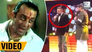 "Sanjay Dutt Re-creates ""Pachas Tola"" Dialouge At Asian Movie Vision Awards 2017 