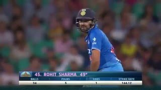 Australia vs India 2016 3rd T20, Highlights