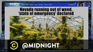 Weed Emergency - @midnight with Chris Hardwick