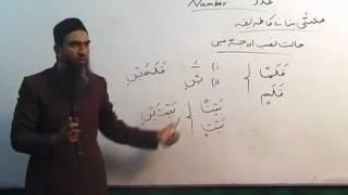 Arabic Course by Sheikh Aamir Sohail Lecture 5 (Urdu)