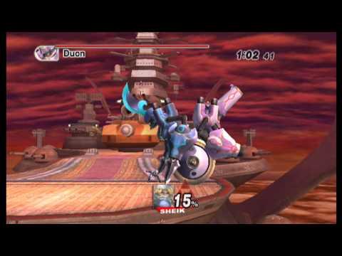 Super Smash Bros. Brawl Boss 6 - Duon