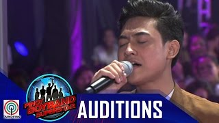 Pinoy Boyband Superstar Judges' Auditions: Jimsen Jison -