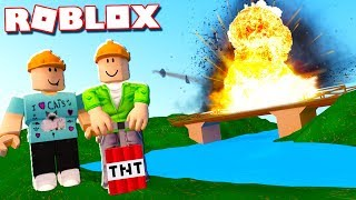 CAN YOU DESTROY THIS ROBLOX BRIDGE IN 5 SECONDS?