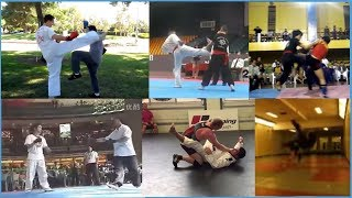 Amazing Style Vs Style Matches Ft. Good Wing Chun & Awesome Silat