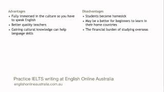 IELTS Writing Lesson 9 - Task 2 Advantages and Disadvantages Essay