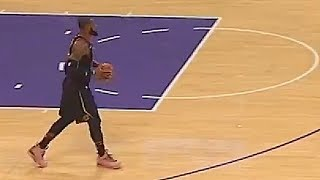 LeBron James Gets Away with the Worst Travel in the NBA Unlike Russell Westbrook!