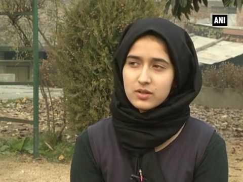 Xxx Mp4 Teenage Girl Makes Kashmir Proud Innovates Namda Rolling Machine ANI News 3gp Sex