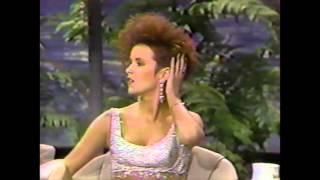 Sheena Easton - Tonight Show Interview '87