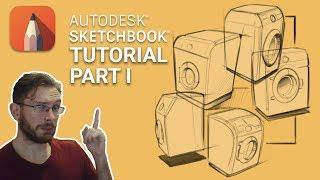 Sketchbook Pro Tutorial Part 1