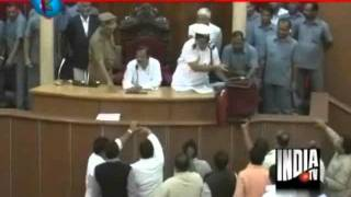 MLAs Throw Chair At Odisha Speaker