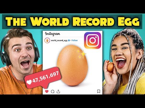 College Kids React To World Record Egg Vs. Kylie Jenner Most Liked Post On Instagram