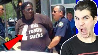 People Wearing HILARIOUS Shirts At The Right Time!