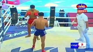 Veng Sopheak Cambodia Vs Techteang, Thailand, Khmer Warrior Boxing Seatv Boxing 19 August 2018