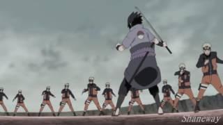【Naruto AMV】 Naruto vs Sasuke World Madara 「720」 Alive