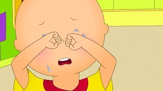 Funny Animated cartoons Kids | NEW | Caillou throws a tantrum | WATCH ONLINE | Cartoon for Children