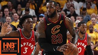 Cleveland Cavaliers vs Toronto Raptors Full Game Highlights / Game 4 / 2018 NBA Playoffs