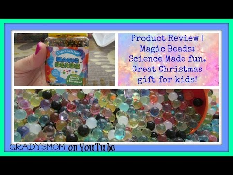 Magic Beadz Review Christmas Gift Idea for Kids Science made fun