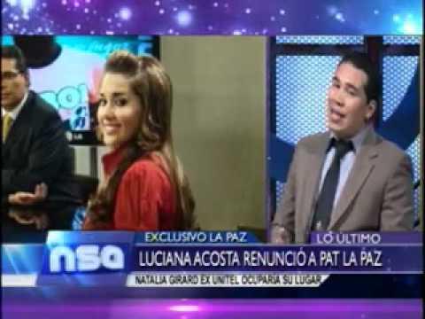 Xxx Mp4 Luciana Acosta Renuncio A PAT Natalia Girard Seria Su Remplazo Set 16 06 2012 NO SOMOS ANGELES 3gp Sex