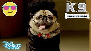 K.C Undercover | The Getaway Driver - K-9 Undercover 🐶| Official Disney Channel UK