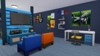 The Sims 4 Speed Build - Teen Boy's Room