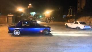 Fiat 128 Drifting In Mnasoura