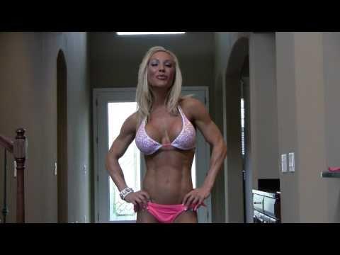 Brittany B Former WWE Diva Jamie Keyes Bodyspace Contest Bodybuilding Ironman Magazine