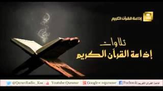 تلاوة للشيخ علي بن عبدالرحمن الحذيفي لما تيسر من سورتي الأحزاب ويس