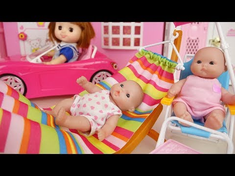 Xxx Mp4 Picnic Baby Doli And Pink Car Toys Baby Doll Hammock Chair Play 3gp Sex