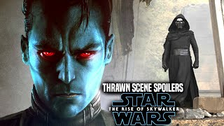 Thrawn Is In The Rise Of Skywalker! Leaked Hints Revealed (Star Wars Episode 9)