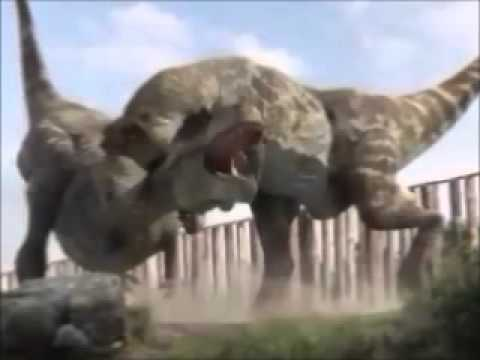 T Rex vs Spinosaurus