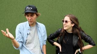 Phoenix Teach Haim French At Leeds Festival 2013