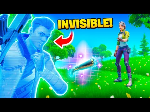 This Glitch makes you Invisible