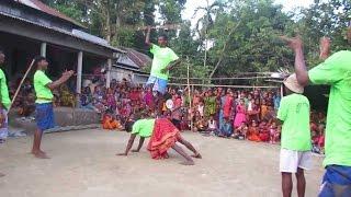 গ্রাম বাংলার ঐতিহ্যবাহী লাঠি খেলা  || হারানো সংস্কৃতি লাঠি খেলা
