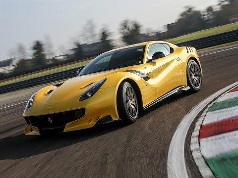 Exclusif l essai de la Ferrari F12tdf en vidéo