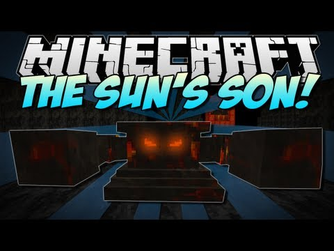 Minecraft THE SUN S SON NEW Dimension Mobs & BOSS Mod Showcase 1.5.2