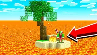 STRANDED ON A DANGEROUS MINECRAFT ISLAND!