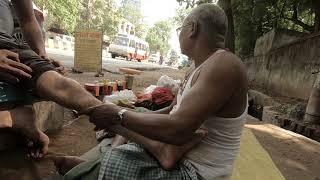 Laal Baba Street Foot Massage