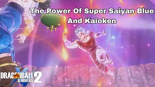 SUPER SAIYAN BLUE KAIOKEN! The Damage Is Out Of This World! | Dragon Ball Xenoverse 2