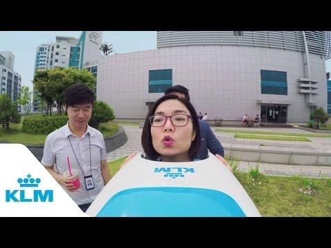 KLM VR travel experience in Korea: KLM 암스테르담 전망대