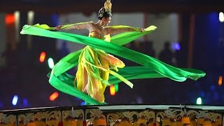 """Dunhuang dance show """"Flying Apsaras"""""""