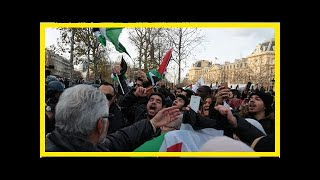 News 24/7 - Protesters rally in paris the day before netanyahu