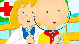 Caillou at the Doctor | CAILLOU FULL EPISODES | Cartoon for Children | Cartoon movie