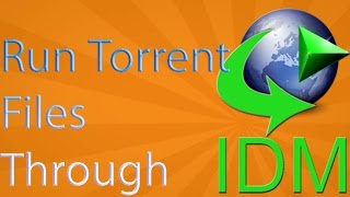 [Hindi] How To Download Torrent Files Using IDM(Internet Download Manager ) 2016