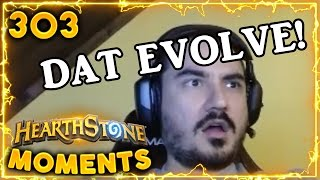 Surprising Epic Evolve!! | Hearthstone Gadgetzan Daily Moments Ep. 303 (Funny and Lucky Moments)