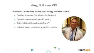 Webinar - QuickBooks Online for Newer Nonprofit Users - 2016-07-21