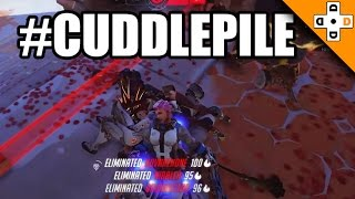 Overwatch Funny & Epic Moments 99 - #CUDDLEPILE - Highlights Montage
