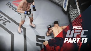 MY FIRST LOSS?! (KNOCKOUT) - UFC 3 Career Mode - Part 13